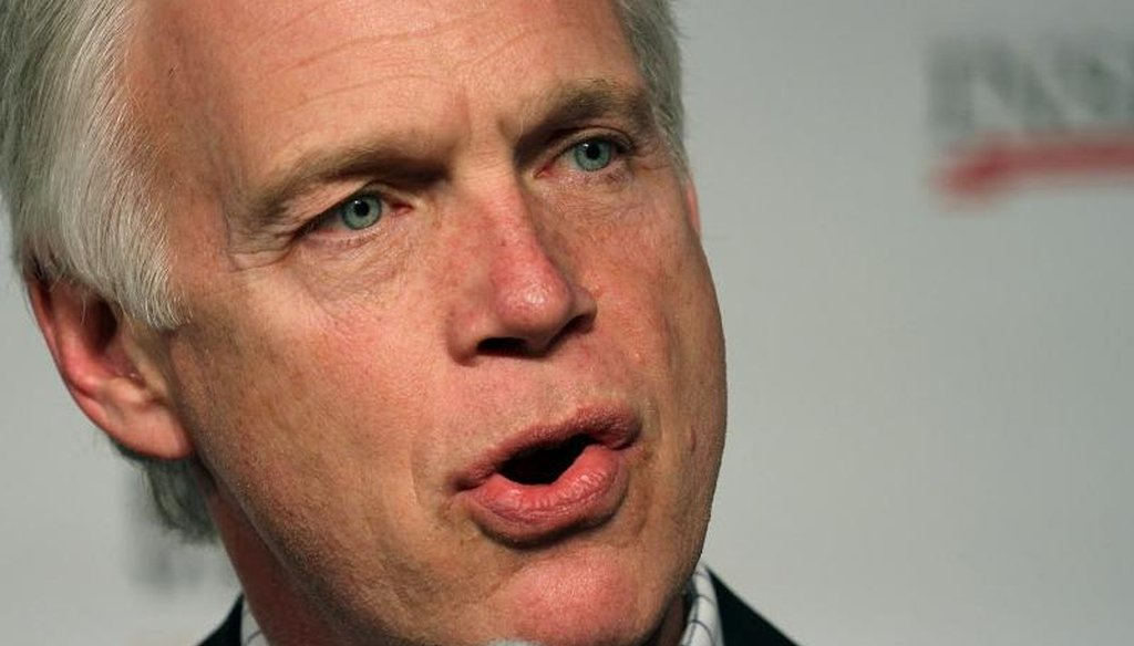 U.S. Sen. Ron Johnson, R-Wis., made an explosive charge, then backtracked. (Todd Ponath photo)