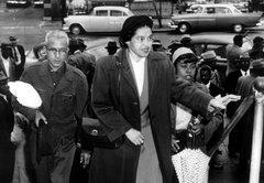 Looking at photos of Joe Biden, Robert Byrd, Donald Trump and Rosa Parks