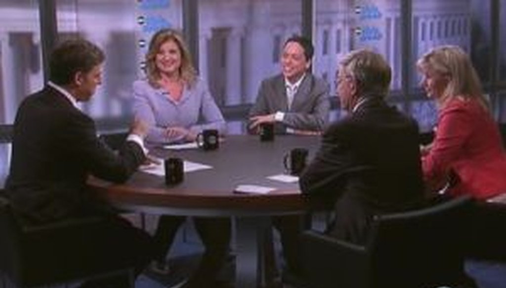 "Arianna Huffington and Liz Cheney sparred on the roundtable of ABC News' ""This Week."""