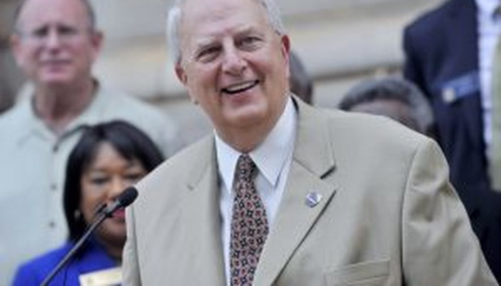 Former Georgia Gov. Roy Barnes