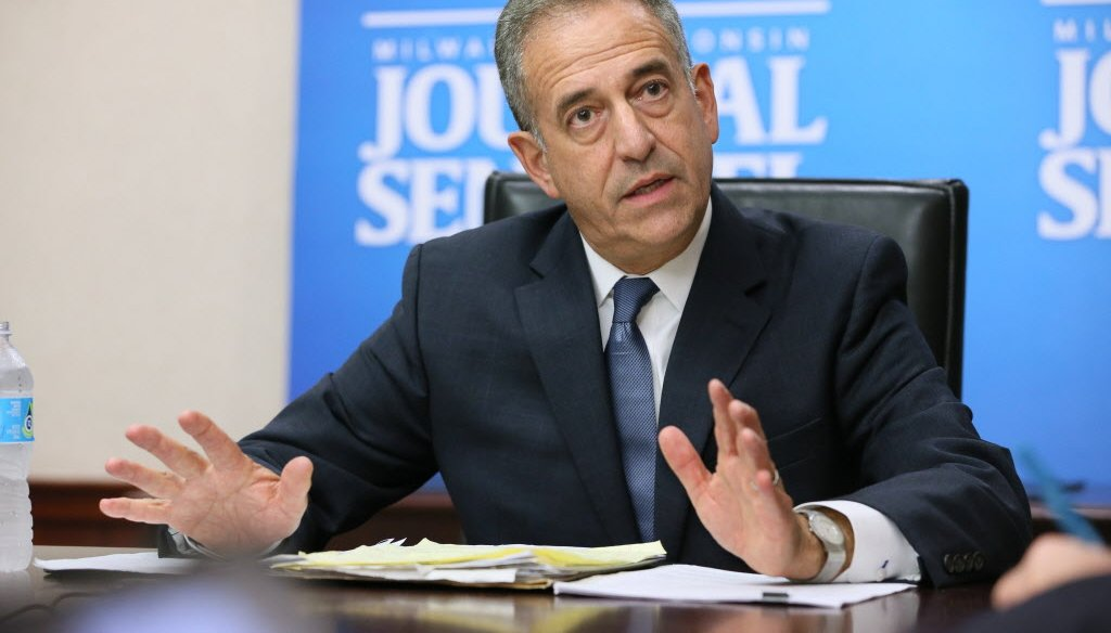 Americans for Prosperity falsely claims Democrat Russ Feingold voted to raise taxes 250 times while in the U.S. Senate. (Milwaukee Journal Sentinel photo)