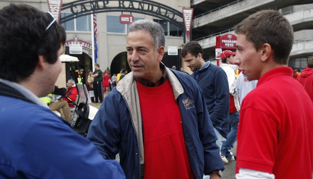 Russ Feingold, shown here campaigning for re-election to the U.S. Senate in 2010, the year Obamacare was signed into law, is a supporter of the law. (Milwaukee Journal Sentinel)