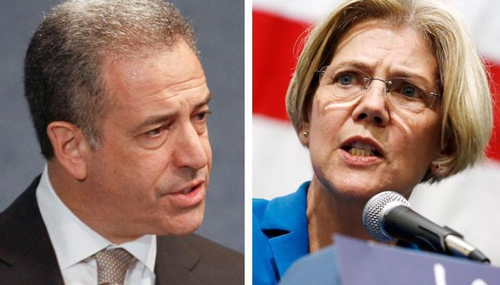 U.S. Sen. Elizabeth Warren campaigned for fellow Democrat Russ Feingold, who is running for his old U.S. Senate seat in Wisconsin, on Sept. 26, 2015 at the University of Wisconsin-Madison. (AP photo)