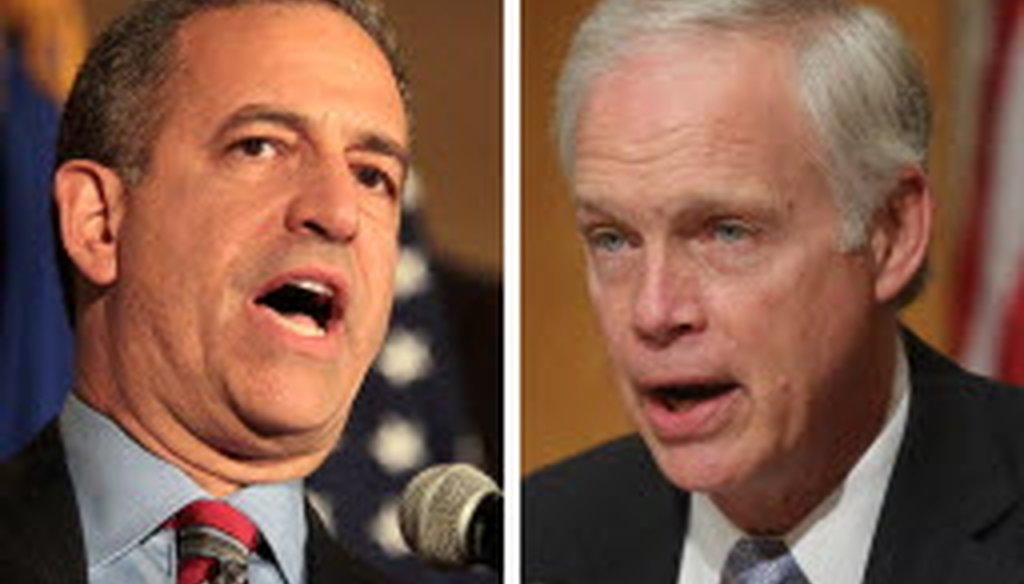 The 2016 U.S. Senate race in Wisconsin is a rematch from 2010 -- only this time Democrat Russ Feingold (left) is the challenger and Republican Ron Johnson is the incumbent. (Journal Sentinel photos)