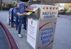 Ballot drop boxes were popular in 2020. Then they became a GOP target