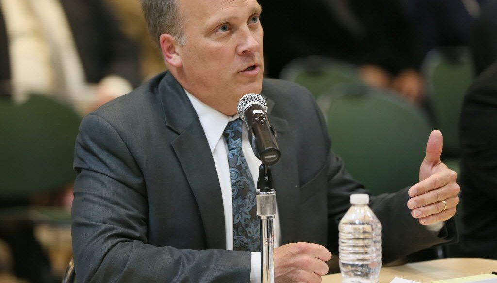 Attorney General Brad Schimel, a Wisconsin Republican, has made combating overdose deaths a key part of his tenure. (Milwaukee Journal Sentinel photo by Michael Sears)
