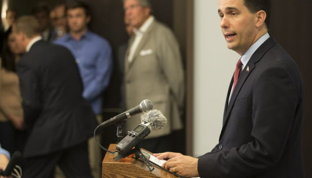 Gov. Scott Walker ended his 2016 presidential campaign on Sept. 21, 2015. (Mark Hoffman photo)