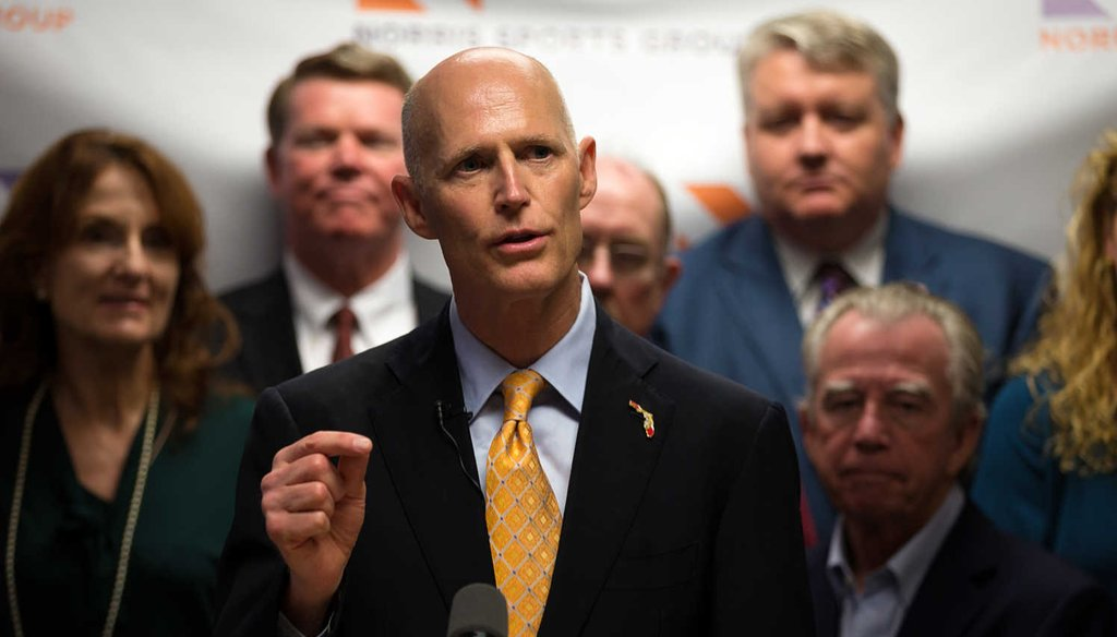 Gov. Rick Scott once said he supports expanding Medicaid. Now, it's a different story. (AP)