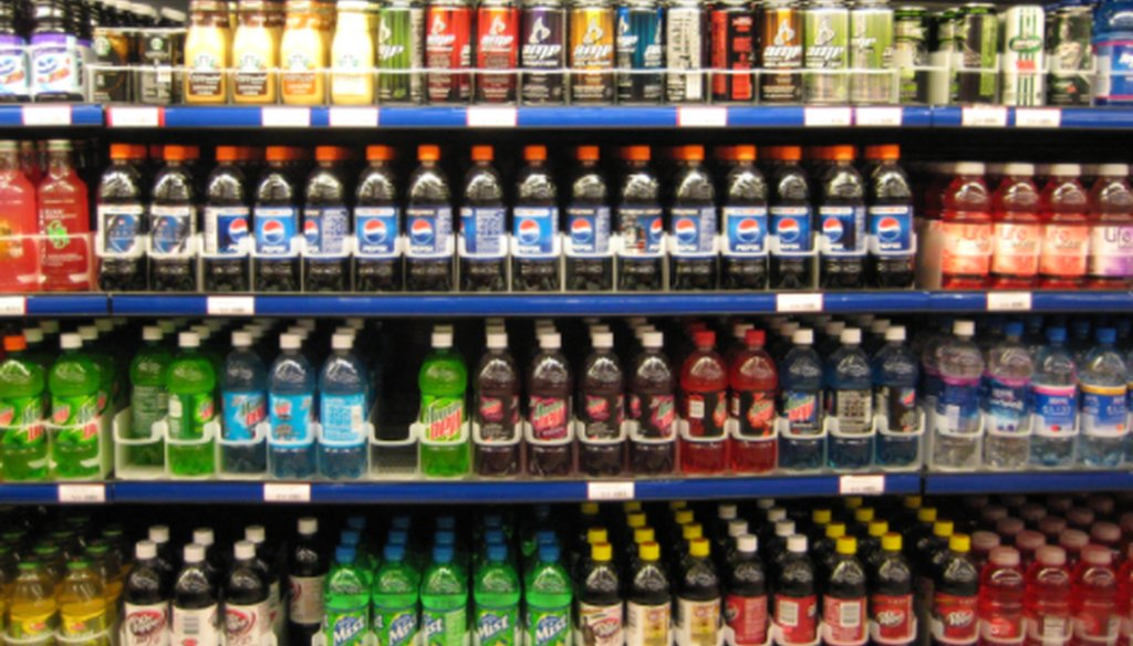 Philly's sugar-sweetened beverage tax affects hundreds of drinks, but not unsweetened ones.