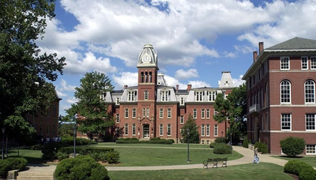 Woodburn Hall on the West Virginia University campus. (Wikimedia Commons)