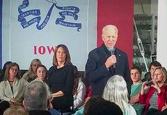 Fact-checking Joe Biden in Ankeny, Iowa