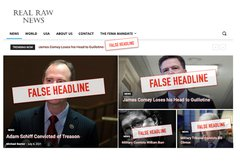 Hangings, guillotines and Gitmo: Going behind Real Raw News' sensational (and fabricated) headlines