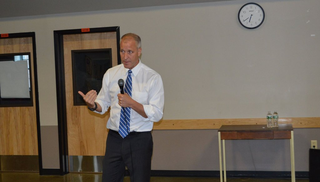 Rep. Sean Patrick Maloney claimed most people on Medicaid are children, seniors, or have a disability. (Courtesy: Maloney's Facebook page)
