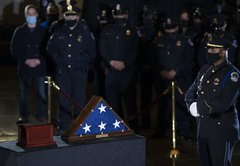Update: Capitol police officer Brian Sicknick died of natural causes