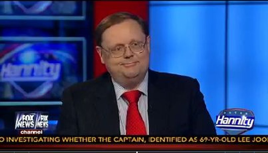 Conservative radio host Todd Starnes sees little reason for Facebook to have deleted one of his posts.