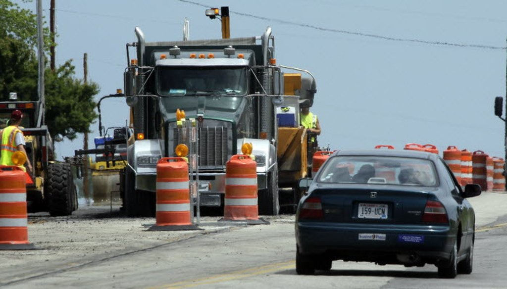 Under Gov. Scott Walker, has less state money been going to highway repair and more to debt on money borrowed for road work? (Mark Hoffman/Milwaukee Journal Sentinel)