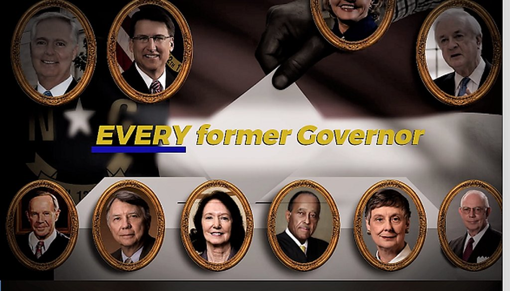 A screenshot of the ad released by Stop Deceptive Amendments, a group that aims to raise awareness about and oppose two proposed Constitutional Amendments that would limit the governor's powers.