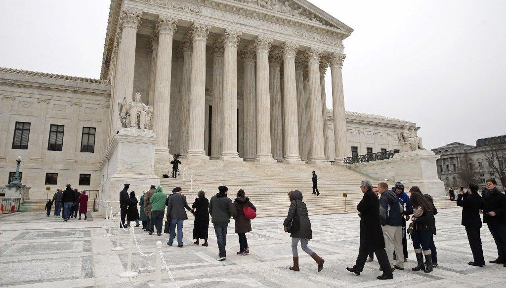 Rep. Bob Goodlatte says President Barack Obama's successor should nominate the next Supreme Court justice. (AP photo)