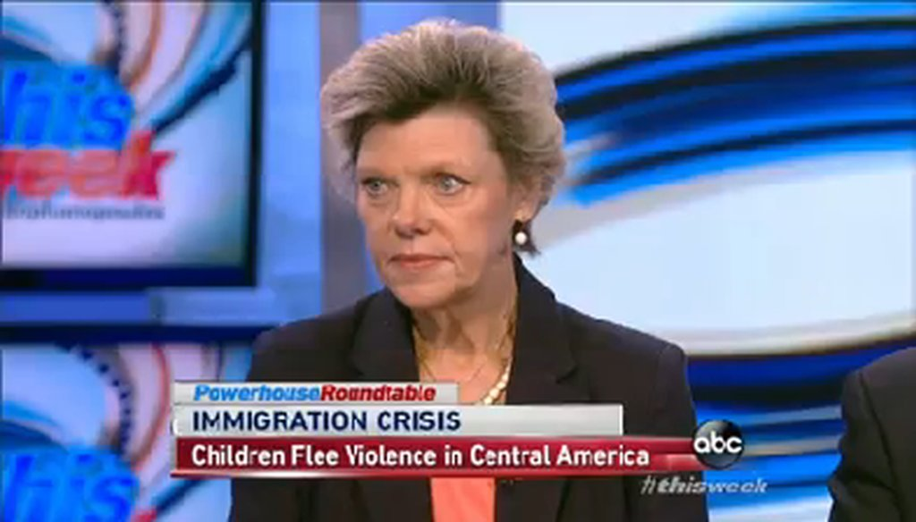 """Cokie Roberts appeared on ABC's """"This Week"""" on July 13, 2014."""