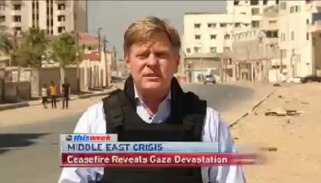 The Sunday shows discussed the situation in Gaza.
