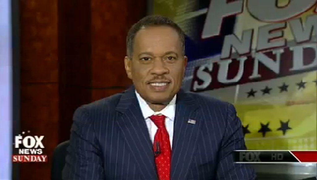 "Juan Williams was a pundit on ""Fox News Sunday"" on Aug. 3, 2014."