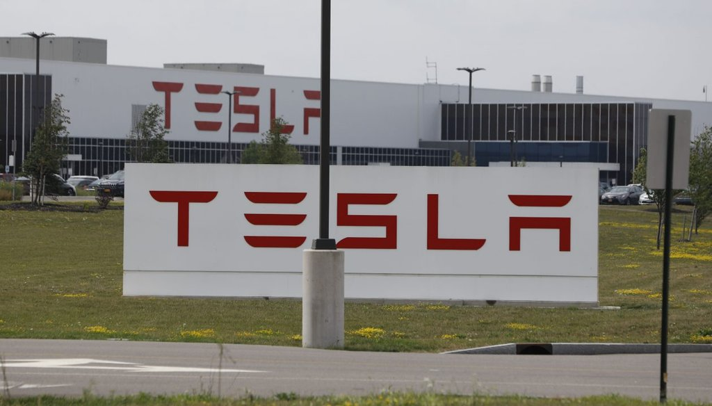The Tesla factory in Buffalo. The state has invested $750 million in the project. (Derek Gee/Buffalo News file)