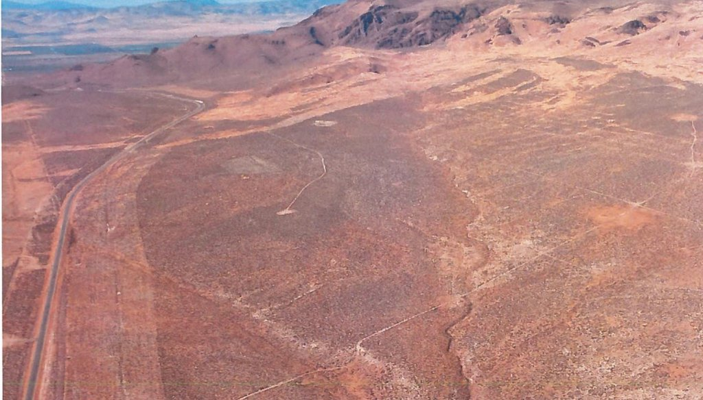 Thacker Pass, the site  of a new lithium mine that has drawn environmental lawsuits. (Bureau of Land Management)