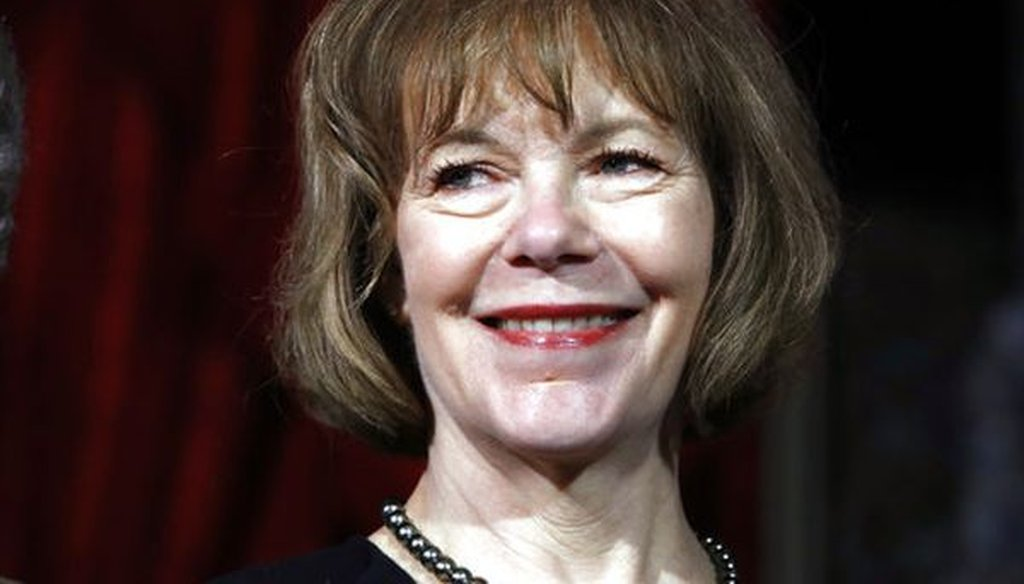 We checked a statement on the gender pay gap by Sen. Tina Smith, D-Minn.