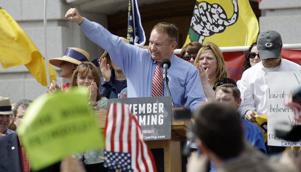 Former Gov. Tommy Thompson is making his 2012 U.S. Senate campaign official.