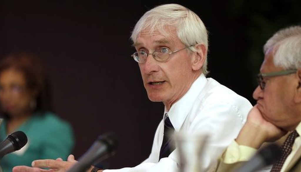 Gov.-elect Tony Evers, a Democrat, succeeds Republican Scott Walker, who served eight years as governor. (Milwaukee Journal Sentinel)