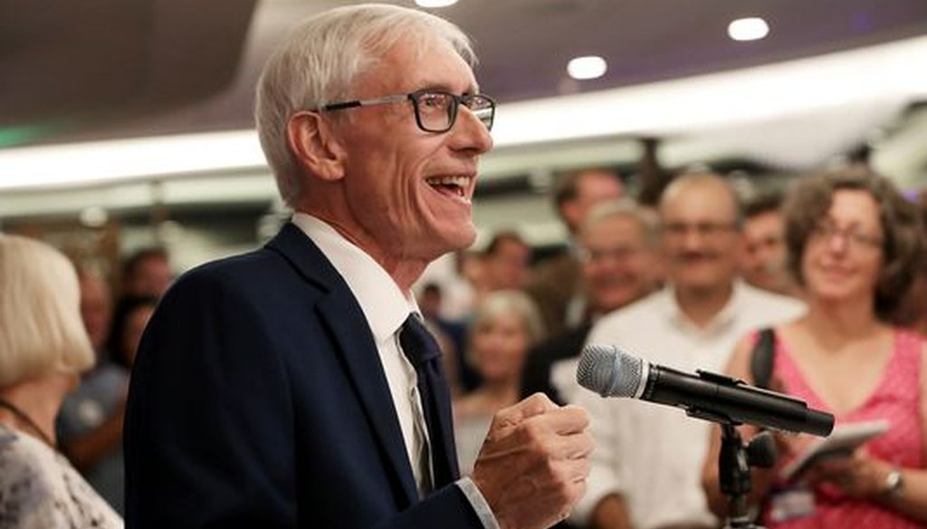 Tony Evers, the Democratic nominee for governor, has made it clear he'll criticize GOP Gov. Scott Walker on infrastructure. (Associated Press)
