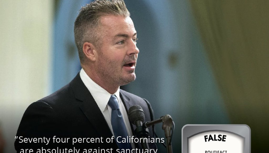 GOP candidate for California governor Travis Allen