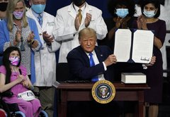 Donald Trump's executive order on preexisting conditions lacks teeth, experts say