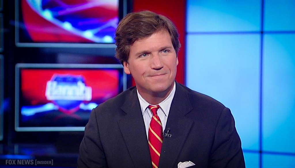 Tucker Carlson, co-host of Fox and Friends Weekend, argued that bathtubs are more deadly than guns.