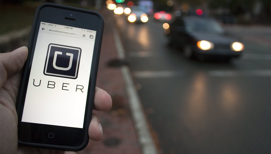 Uber began operations in Hillsborough County, Florida, in April 2014. (Google image labeled for reuse and modification)
