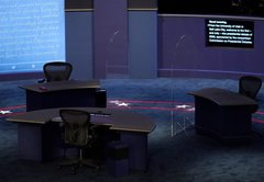 Experts pan plexiglass on the vice presidential debate stage
