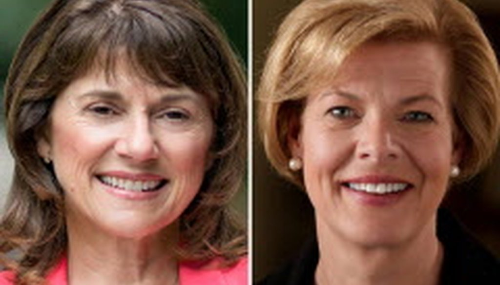 """Challenger Leah Vukmir says Sen. Tammy Baldwin's record includes """"opposing harsher punishments for criminals who commit violent crimes near schools."""