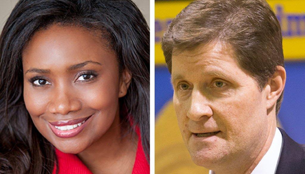 Verona Swanigan is running against 10-year Milwaukee County District Attorney John Chisholm.