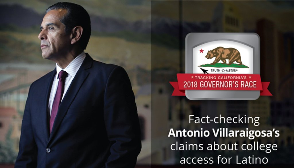 Former Los Angeles Mayor Antonio Villaraigosa is a 2018 candidate for California governor.