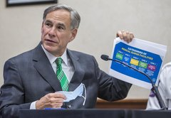 Fact-checking three coronavirus claims from Texas Gov. Greg Abbott