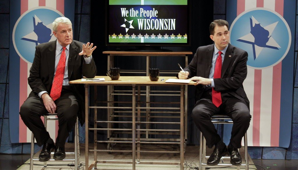 Among the issues debated in the recall election between Tom Barrett and Gov. Scott Walker is the role of the WEA Trust in health insurance costs.