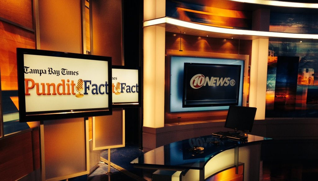 PunditFact is partnering with WTSP 10 News to air fact-checks in Tampa Bay.