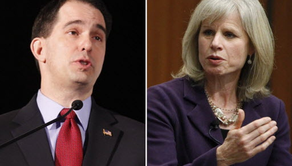 With the governor's race a dead heat in the latest Marquette poll, Gov. Scott Walker and Mary Burke take to the debate stage again on Oct. 17, 2014.