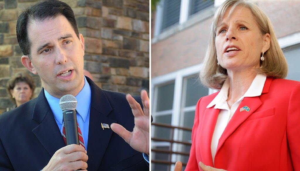 We're tracking Scott Walker and Mary Burke as the promises start to fly in the governor's race