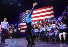 The Stump Speech Analyzer: Elizabeth Warren