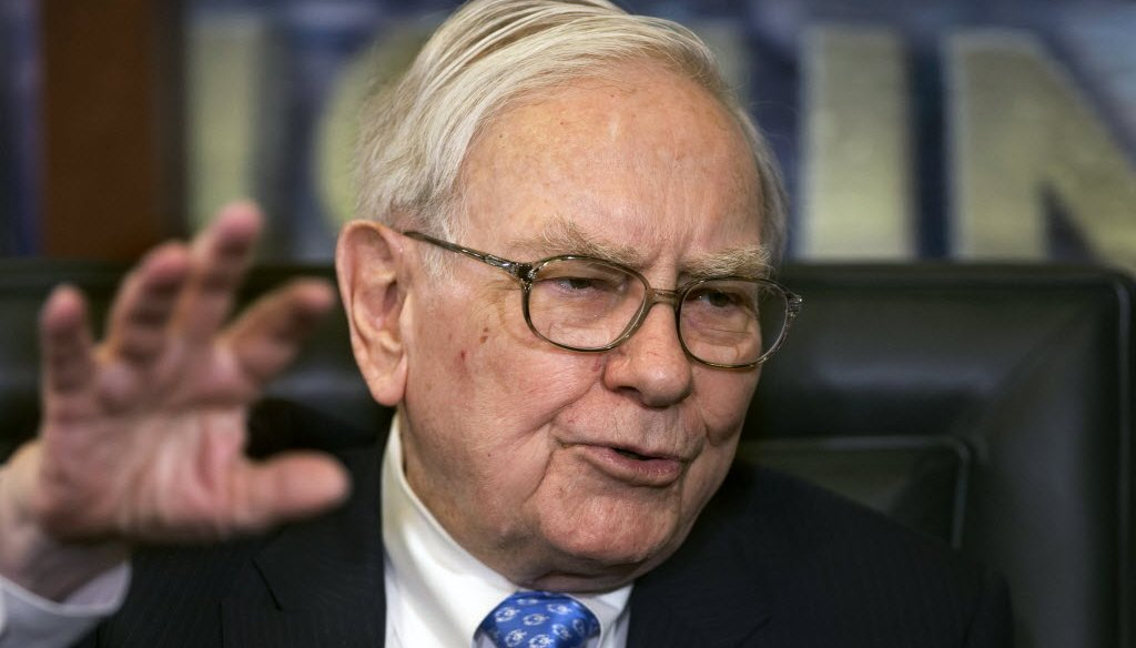 Billionaire investor Warren Buffett has advocated for higher tax rates for high-income taxpayers. (AP photo)