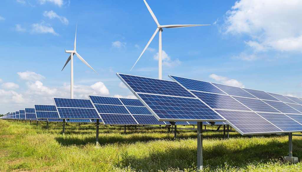 Wind and solar have expanded and produce about 10% of U.S. electricity. (Shutterstock)