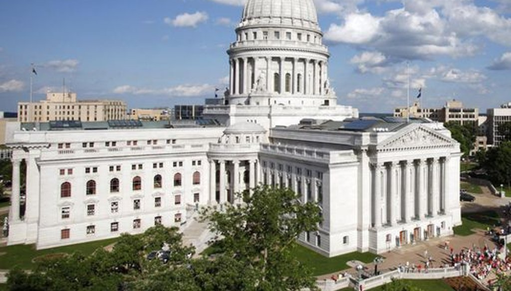 The Wisconsin Capitol isn't nearly large enough to house all state agencies. (AP)