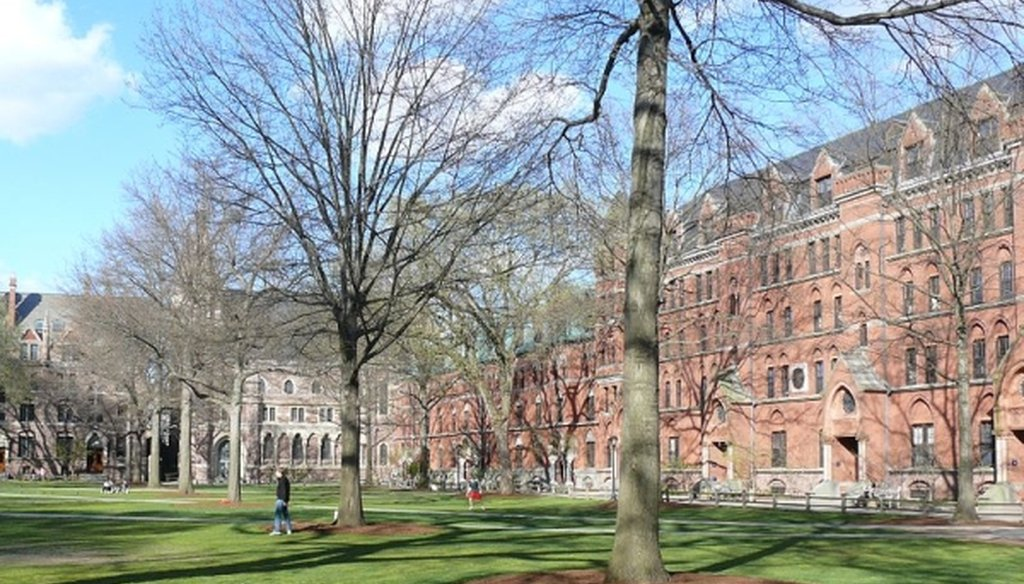 The Old Campus Courtyard of Yale University in New Haven, Conn. (Ad Meskens/Wikimedia Commons)