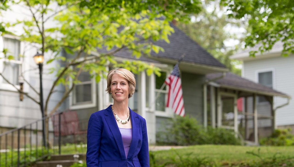 Photo from Zephyr Teachout's campaign Facebook page